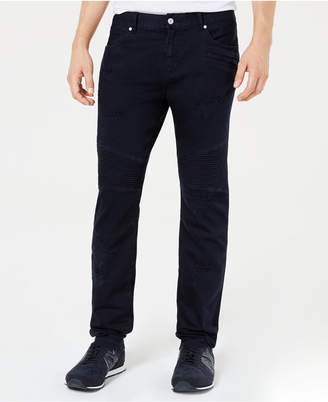 Armani Exchange Men's J27 Slim-Fit Navy Jeans