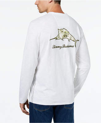 Tommy Bahama Men's Don't Leaf Me Now Embroidered Logo Graphic T-Shirt