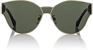 Balenciaga Women's Round Geometric Sunglasses - Green