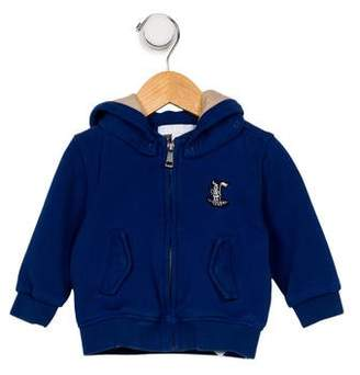 Burberry Boys' Hooded Zip Front Sweatshirt