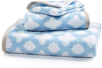 Martha Stewart Collection Cotton Tile Spa Fashion Bath Towel, Created for Macy's Bedding