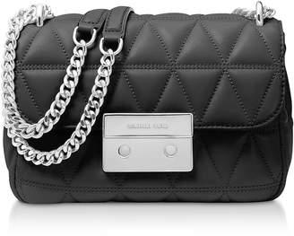 132d9cc304b9 Michael Michael Kors Sloan Quilted Leather Shoulder Bag - ShopStyle UK