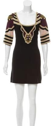 Temperley London Knit Mini Dress
