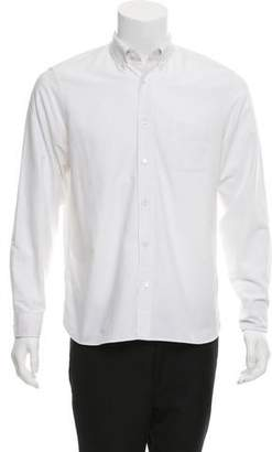 Burberry Embroidered Equestrian Knight Shirt