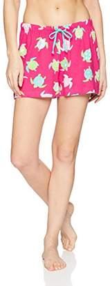 Hatley Little Blue House by Women's Sea Creatures Pajama Boxer Shorts