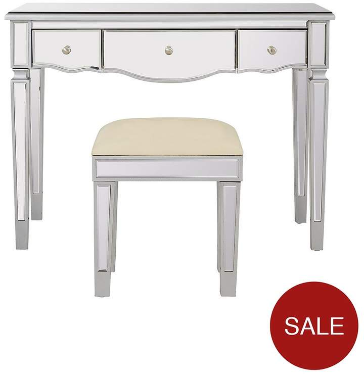 Ideal Home Mirage Dressing Table And Stool Set