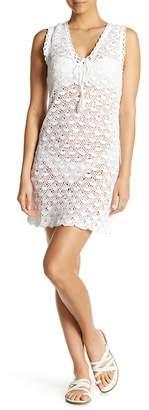 Letarte Crochet Cover-Up Dress