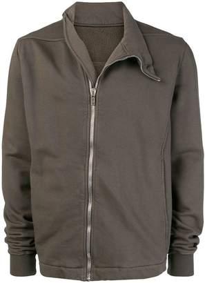 Rick Owens zip front sweatshirt