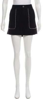 Rebecca Minkoff Suede Mini Skirt w/ Tags