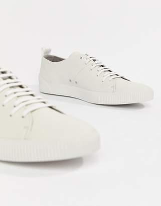 HUGO Zero Leather Sneaker in White