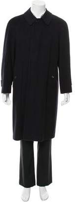 Burberry Wool & Cashmere-Blend Overcoat