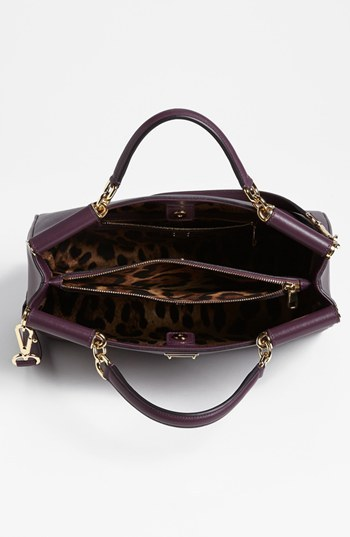 Dolce & Gabbana 'Miss Sicily' Leather Satchel