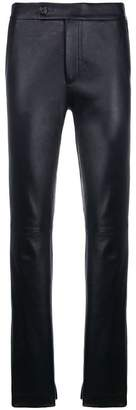 Helmut Lang high waist skinny trousers