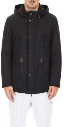 Corneliani Cc Collection CC Collection Parka With Leather Details