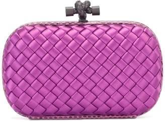 Bottega Veneta zig-zag pattern clutch