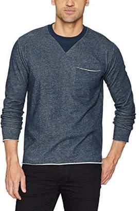 ATM Anthony Thomas Melillo Men's Brushed Back Terry Raw Cut Sweatshirt