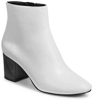 KENDALL + KYLIE Hadlee Leather Ankle Boots