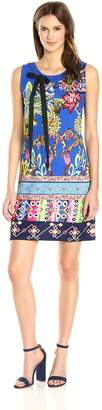 Desigual Women's Octubre Knitted Sleeveless Dress, Mineral Blue, M