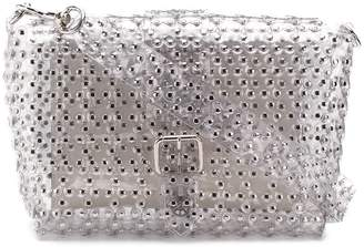 RED Valentino RED(V) flower puzzle shoulder bag