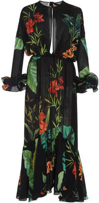 Johanna Ortiz Nambia Silk Crepe Dress