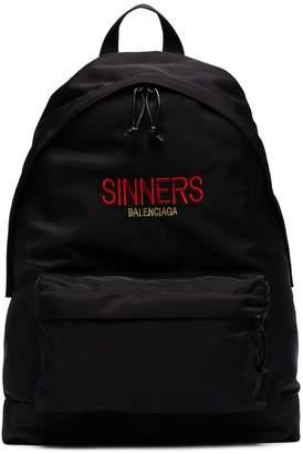 Balenciaga Bal Explorer Sinners Backpack
