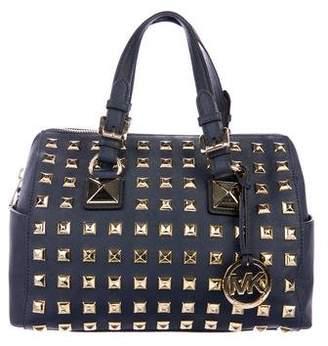 MICHAEL Michael Kors Studded Saffiano Leather Bag