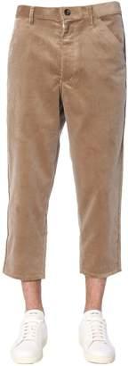 Comme des Garcons Boy Ribbed Velvet Trousers