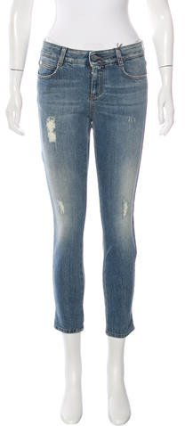 Stella McCartneyStella McCartney Distressed Skinny Jeans w/ Tags