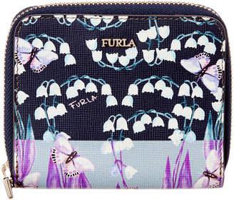 Furla Babylon Small Zip Around Leather Wallet