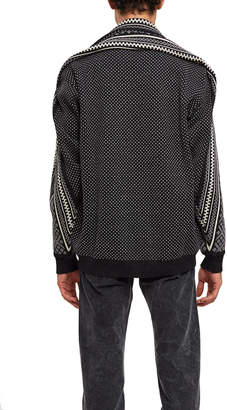 Y/Project Norwegian Paneled Sweater