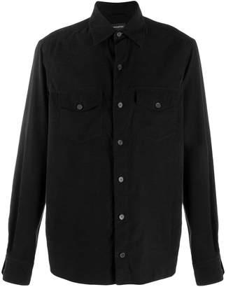 Ermenegildo Zegna flap pocket shirt