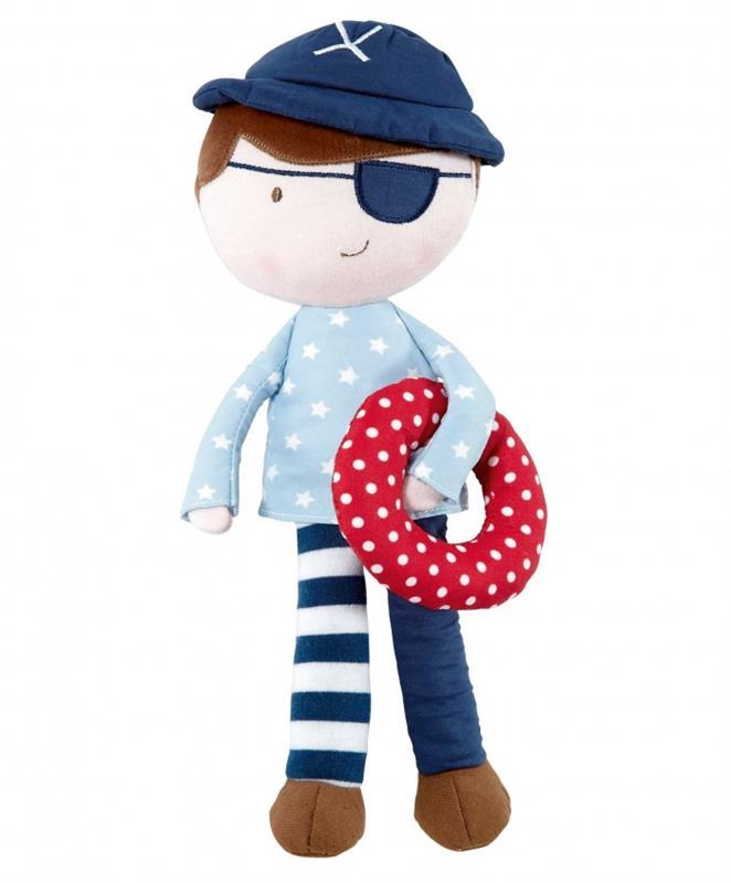 Mamas and Papas Plush Toy Pirate