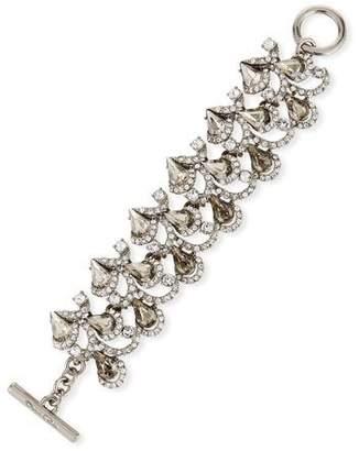 Oscar de la Renta Baroque Crystal Bracelet