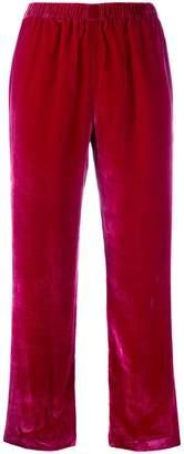 Ermanno Scervino high-waist straight leg trousers
