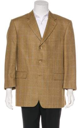 Burberry Wool & Silk-Blend Blazer