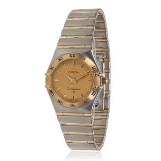 Omega Vintage Constellation Silver gold and steel Watches