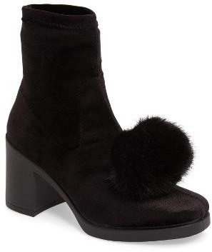 TopshopWomen's Topshop Belle Pompom Boot