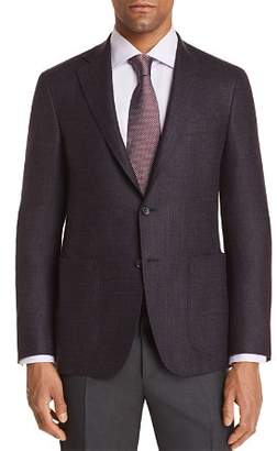 Canali Kei Textured Solid Regular Fit Sport Coat - 100% Exclusive