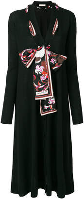 Emilio Pucci scarf-detailed cardigan
