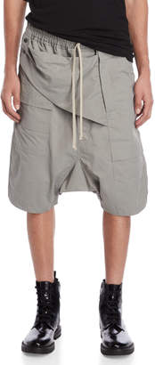 Rick Owens Pouch Drop Crotch Shorts