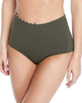 Marysia Swim Corsica High-Waisted Bikini Bottom
