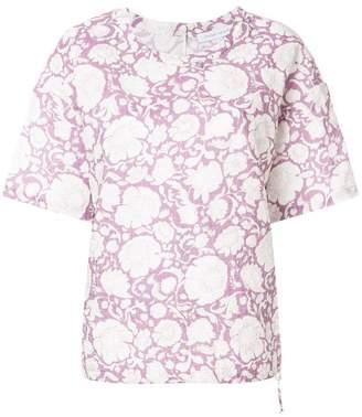 Christian Wijnants short sleeve floral blouse