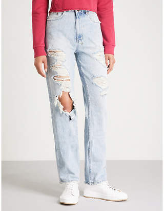 Ksubi Relax distressed relaxed high-rise jeans