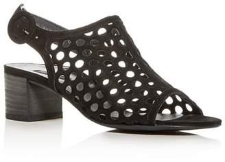 Paul Green Women's Tico Perforated Block-Heel Sandals
