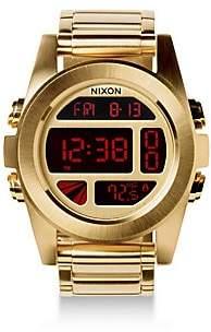 Nixon Unit Stainless Steel Digital Bracelet Watch