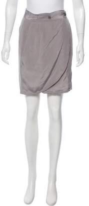 Rag & Bone Silk Knee-Length Skirt