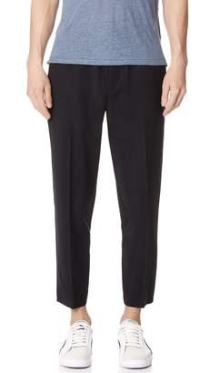 Club Monaco Synth Rib Dress Trousers