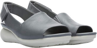 Camper Balloon Leather Wedge Sandal