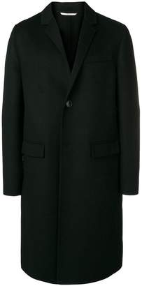 Valentino single-breasted long coat