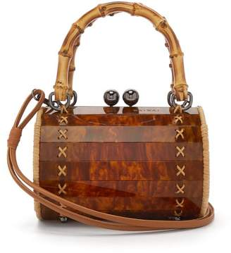 Wai Wai - Alix Tortoiseshell Bag - Womens - Brown Multi